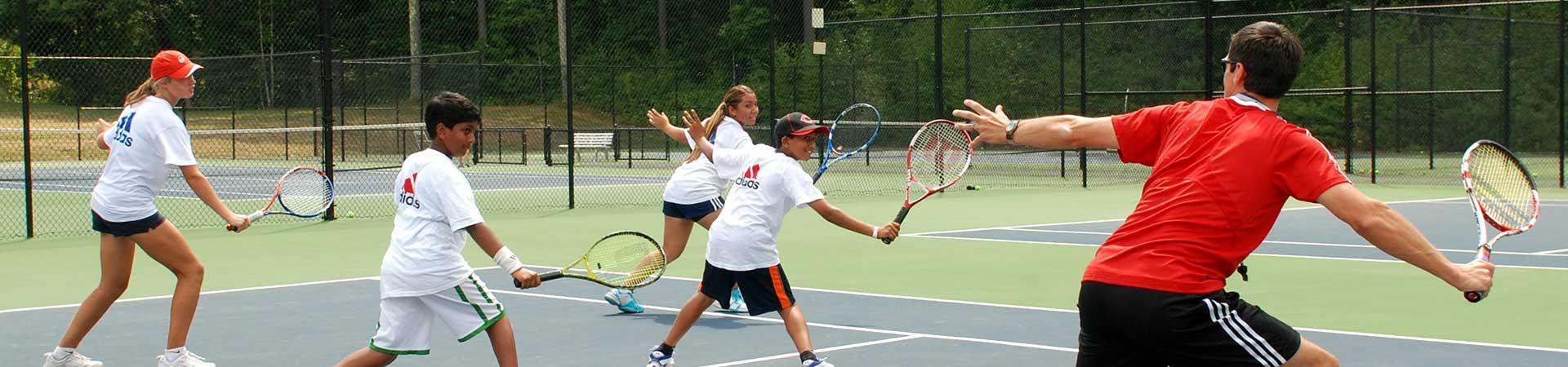 Kolonie tenisowe i obozy tenisowe