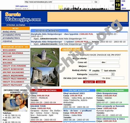 archiwum strony www.serwiswakacyjny.com